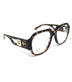 eyeglasses 2663a 235 havana blue square men
