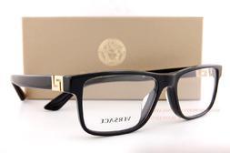 Brand New VERSACE Eyeglasses Frames 3211 GB1 BLACK for Men 1