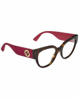 Eyeglasses Gucci GG 0103 O- 003 003 AVANA / PINK