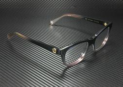 Gucci Eyeglasses GG0372O GG/0372/O 004 Blue-Pink Crystal Opt