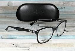 RAY BAN Eyeglasses RB 5286 2034 Black Transparent 53MM