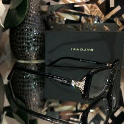 Bvlgari Eyeglasses Swarovski Crystal 4064-B Black Rose Gold