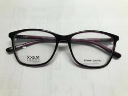 Maxx Eyewear Elaine Violet Women's Plastic Eyeglasses Frames