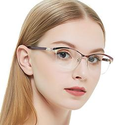 Eyewear Frames-OCCI CHIARI-Fashion Metal Gold Optical Non-Pr