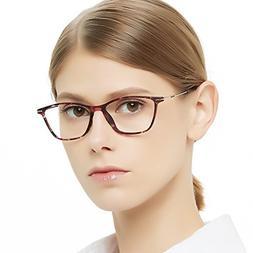 Eyewear Frames-OCCI CHIARI-Rectangular Eyeglasses Frame with