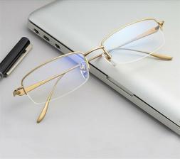 Fashion Brand Thick PC Large Frames for Man Women Plain Glas