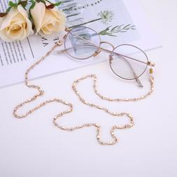 Fashion Rectangle Eyeglasses Chain Secure Holder Link Chain