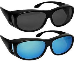 Fit Over Sunglasses Polarized Lens Wear Over Prescription Ey