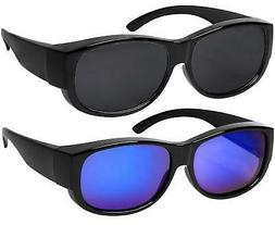 Fit Over Sunglasses With Polarized Lens 100% UV Protection W