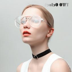 TWO Oclock <font><b>Aviation</b></font> Glasses Women Men Cl