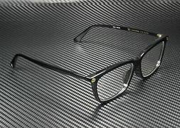 Gucci GG 0042OA 001 Asian Fit Black Plastic Cat-Eye Eyeglass