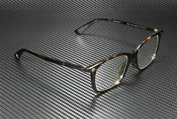Gucci GG 0157O 002 Havana Plastic Square Eyeglasses 52mm