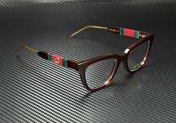 Gucci GG 0601-O 002 Havana Women's Authentic Eyeglasses Fram