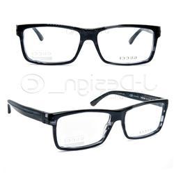 GUCCI GG 1053 WR7 Black Havana 55/15/140 Eyeglasses Rx Italy