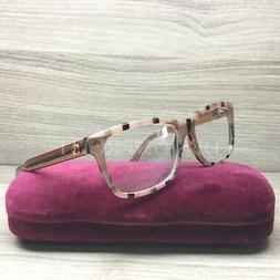 Gucci GG 3765 GG3765 Eyeglasses Brown Black Rose Gold GX7 Au