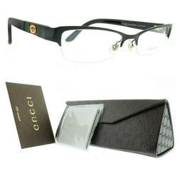 Gucci GG 4213 GB5 Black Rectangular Optical semi rimless Fra