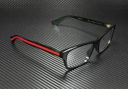 GUCCI GG0006O 006 Black Men's Rectangle Authentic Eyeglasses