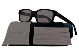 Gucci GG0012O Eyeglasses 54-18-145 Shiny Black 001 GG 0012O