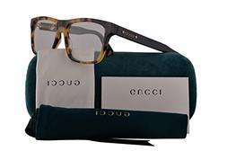 Gucci GG0269O Eyeglasses 56-16-145 Havana Black w/Demo Clear