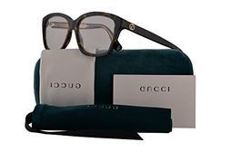 Gucci GG0311O Eyeglasses 55-15-140 Havana w/Demo Clear Lens