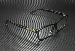 GUCCI GG0378Oa 001 Square Black Crystal Black Demo Lens 55 m