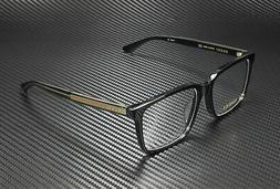 Gucci GG0385OA 001 Shiny Black Demo Lens 55 mm Men's Eyeglas