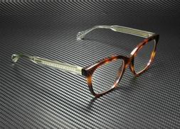 Gucci GG0566O 002 Eyeglasses Men's Havana/Crystal Full Rim O