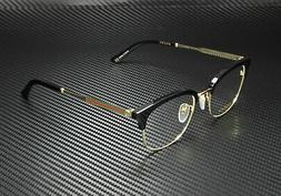 Gucci GG0590OK 001 Eyeglasses Men's Black/Gold Full Rim Opti