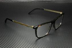 GUCCI GG0691O 005 Gold Havana Men's Authentic Eyeglasses Fra