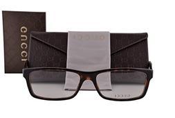 Gucci GG1054 Eyeglasses 55-16-145 Havana BCR GG 1054