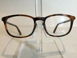 GUCCI GG1112 Men's Plastic Eyeglass Frame 8E2 Havana Matte R
