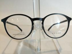GUCCI GG2264 Men's Round Metal Eyeglass Frame Y8N Matte Blac