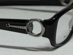 gg3204 shiny black frame w crystal d28