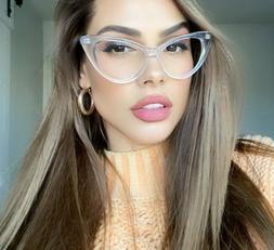 """GLASSES Cat Eye Vintage Retro """"NIKITA  Women Eyeglasses Full"""