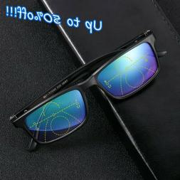 Glasses Progressive Multifocal Lens Anti-blue Light Presbyop