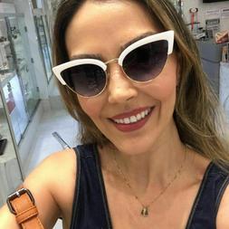 Half Frames Cat Eyeglasses Styles For Women Eyes Wear Sungla