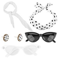 Halloween 5 Packs Women's Accessories Set Headband Earrings