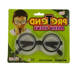 Halloween Round Nerd Eyeglasses Costume Party Favor Harry Po