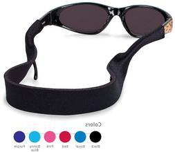"Kids Solid CROAKIES Sunglasses Eyeglasses Retainer 13"" x 3/4"