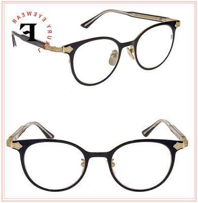 0068 titanium black gold rx eyeglasses optical