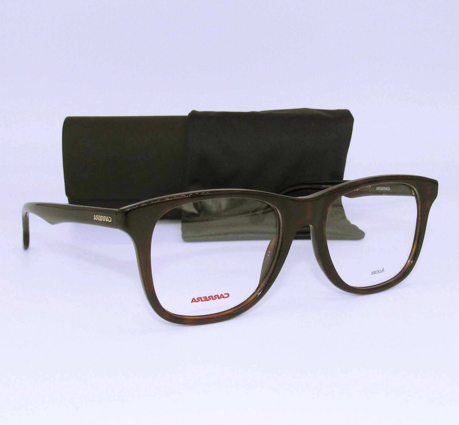 135v 086 havana demo lens 52mm eyeglasses
