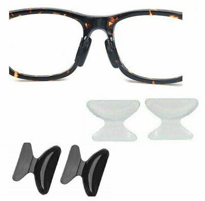 2 pairs Anti-slip silicone Stick For Eyeglasses Sunglasses Glasses