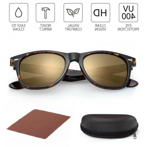 2Pairs Women's Wayfare Sunglasses UV400 Protection Lens Eye Glasses