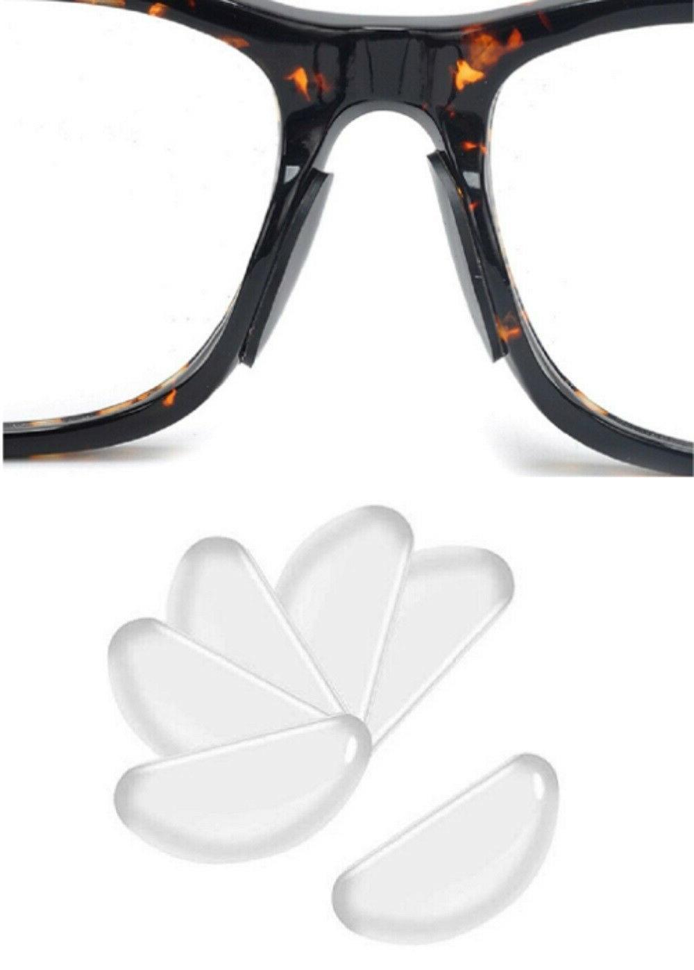 5 pairs anti slip silicone stick on