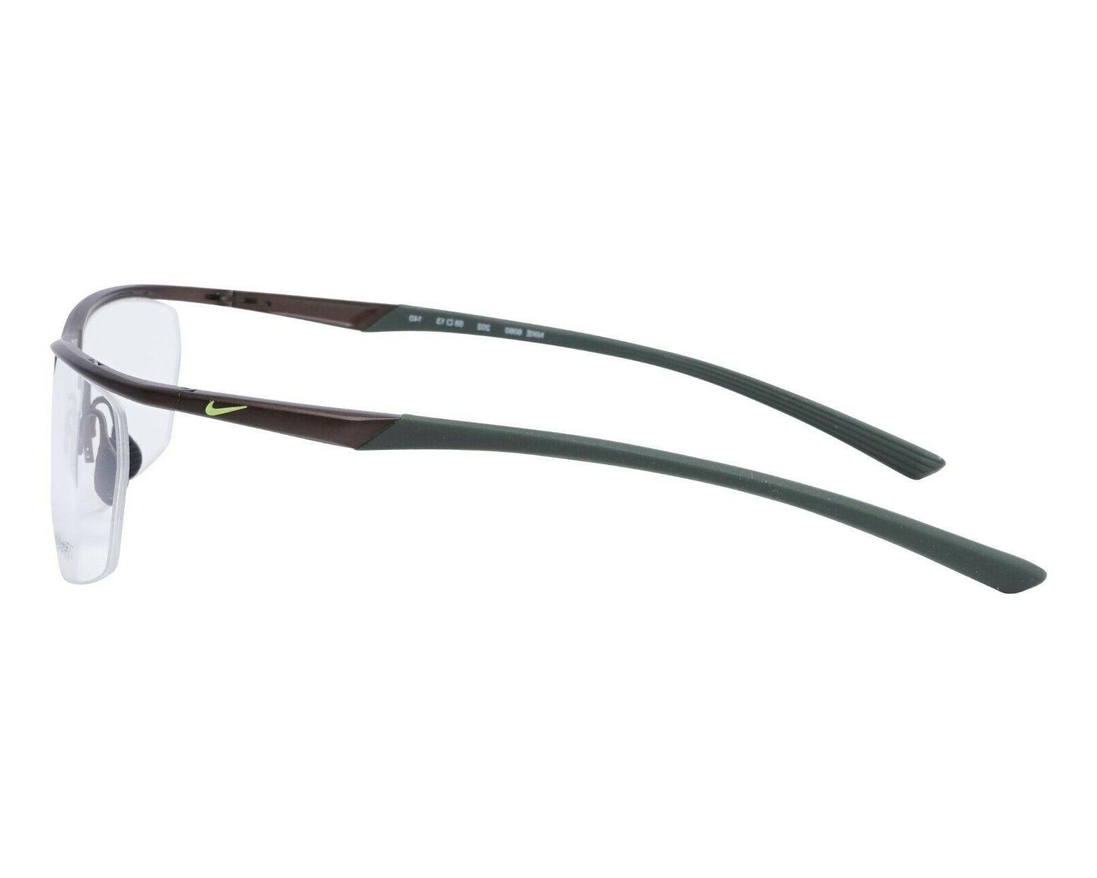 NIKE 067 Satin Gunmetal Black / Lens 58mm Eyeglasses