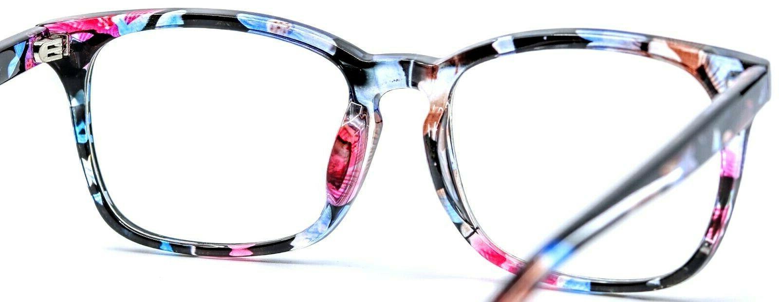 Agstum 8082 C155 Flowers Square Women Eyewear Eyeglasses