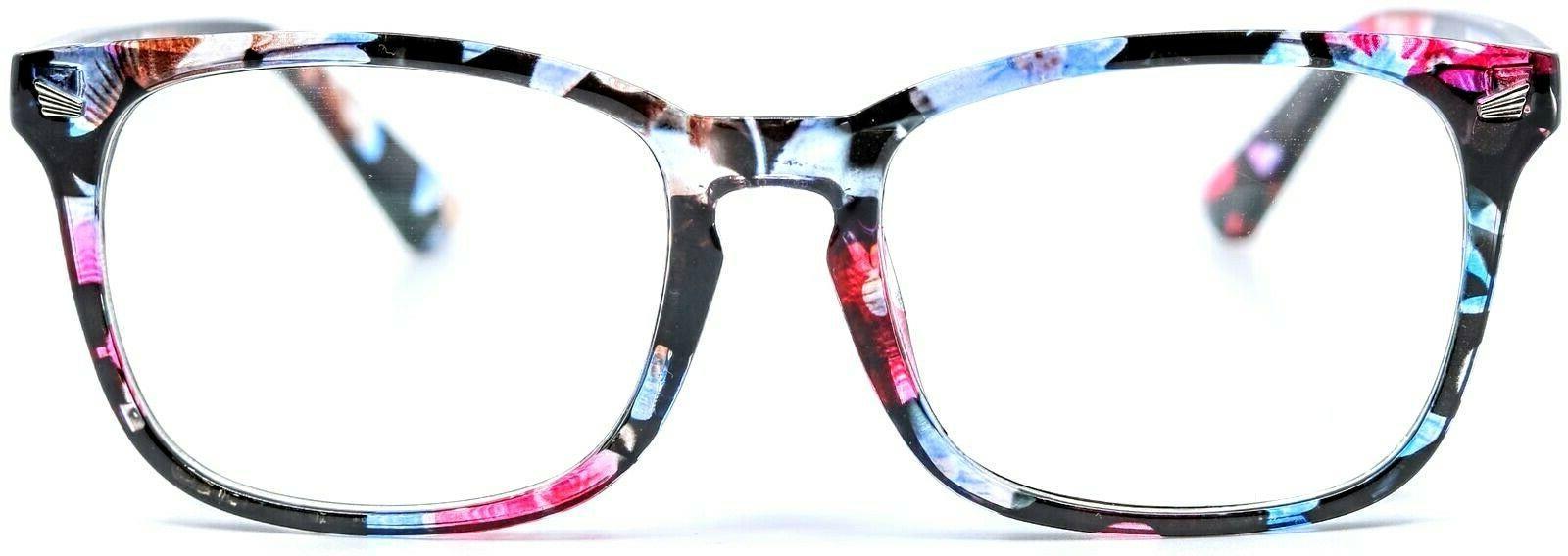 Agstum C155 Flowers Square Eyeglasses