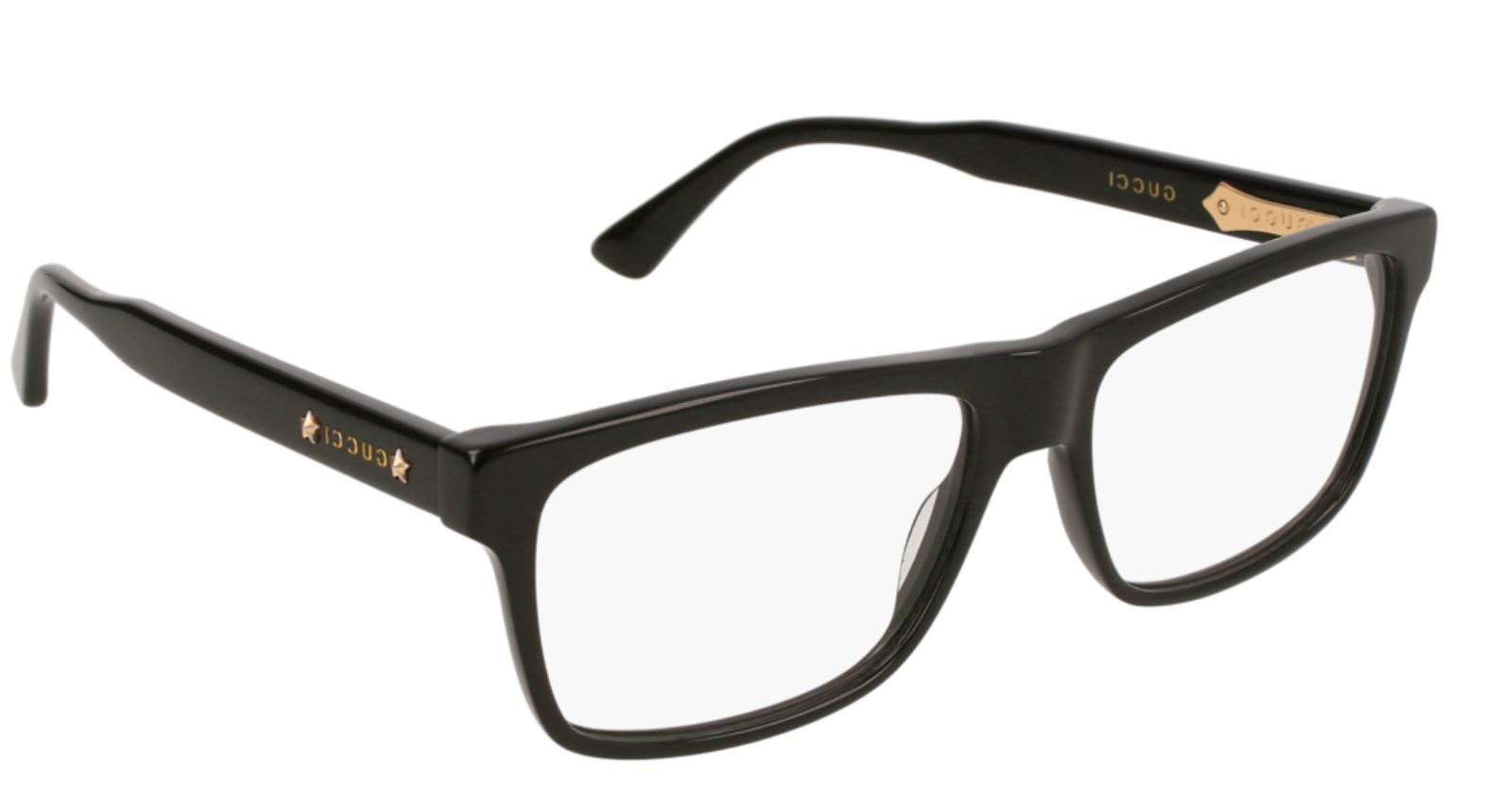 Gucci GG0269O 001 Eyeglasses Shiny Black Frame 56mm