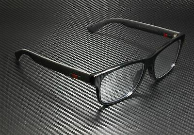 Gucci Men's Eyeglasses GG0176OA GG/0176/OA 001 Black Full Ri