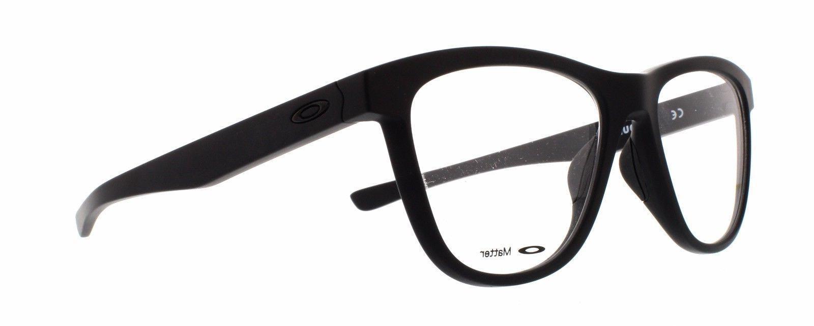 NEW OX8070-0653 Satin Black Men's Eyeglasses